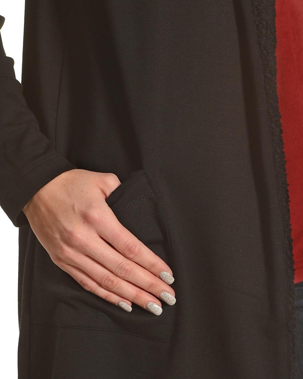 New Direction Sport Women's Sherpa Lined Jacket , Black, hi-res