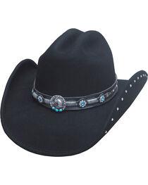 Bullhide Women's Desperate Ride Wool Hat, , hi-res