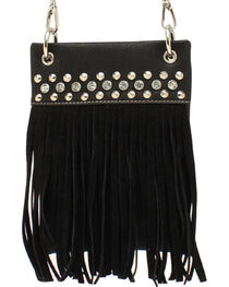 Blazin Roxx Women's Fringe Crossbody Bag, , hi-res