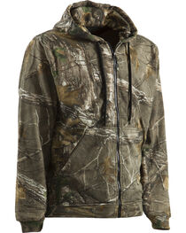 Berne Camouflage All Season Hooded Thermal Lined Sweatshirt - 3XT and 4XT, , hi-res