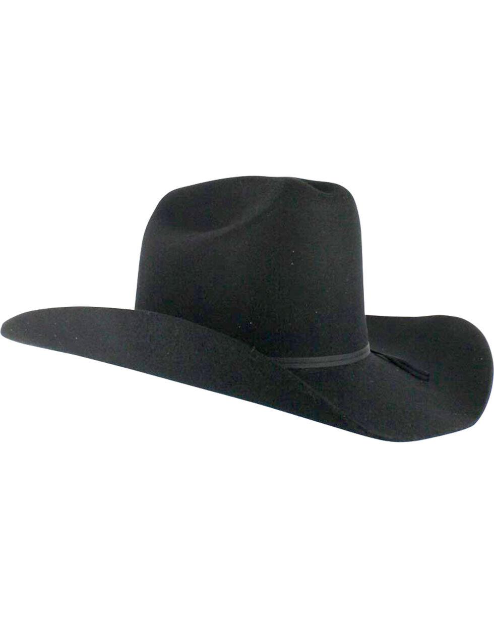 Cody James® Men's Denver Men's 2X Felt Cowboy Hat, Black, hi-res
