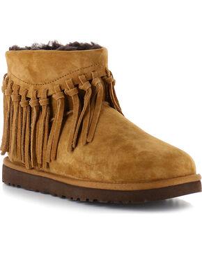 UGG® Women's Winona Fringe Short Boots, , hi-res