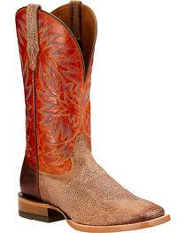 Ariat Men's High Call Square Toe Western Boots, , hi-res