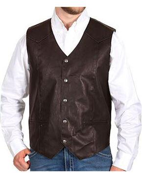 Cody James® Men's Deadwood Vest, Brown, hi-res