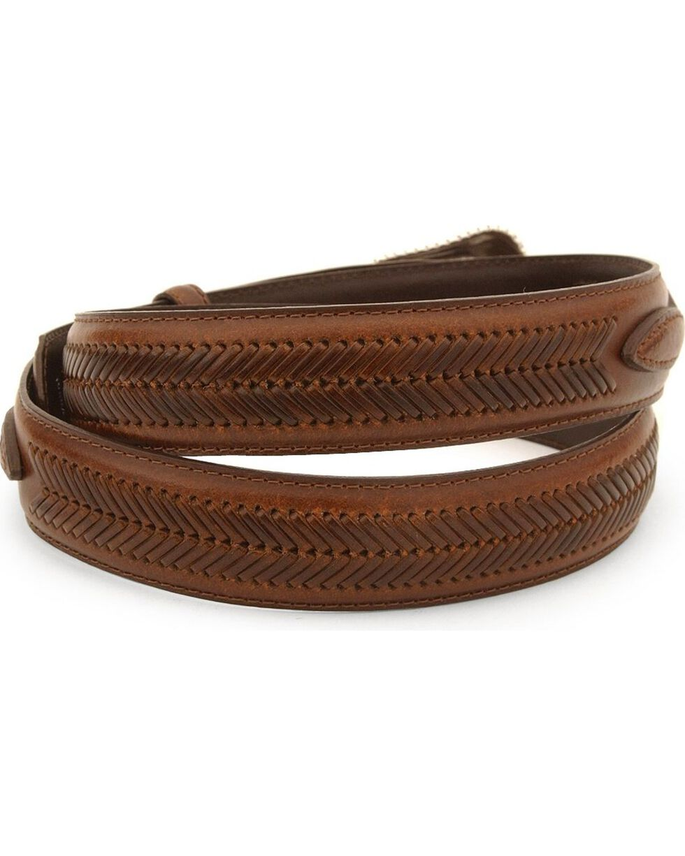 Nocona Men's Leather Ranger Belt - Reg & Big, Brown, hi-res