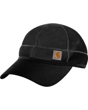 Carhartt Workwear Griggs Fleece Visor Cap, Black, hi-res