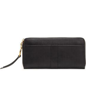 Frye Women's Ilana Harness Zip Wallet , Black, hi-res
