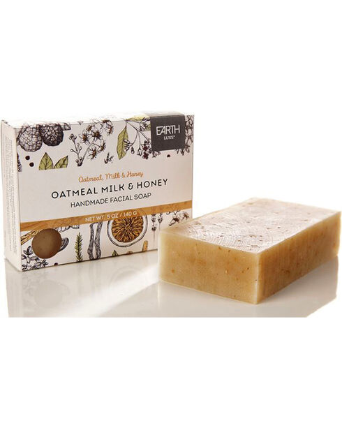 Gift Craft Oatmeal, Milk & Honey All Natural Soap, No Color, hi-res