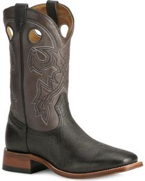 Boulet Cowboy Boots - Wide Square Toe, , hi-res