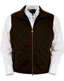 Outback Trading Co. Men's Bronze Harrington Quilted Vest , , hi-res