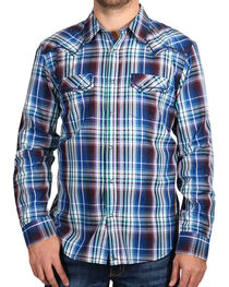 Cody James Men's Plaid Long Sleeve Shirt, , hi-res