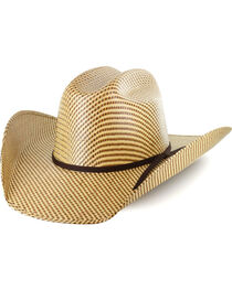 Cody James® Men's 20X Pattern Straw Hat, , hi-res