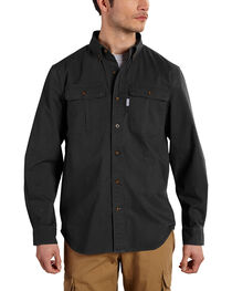 Carhartt Men's Foreman Long Sleeve Work Shirt, , hi-res