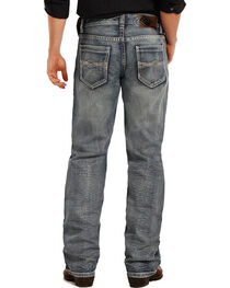 Rock & Roll Cowboy Double Barrel Boot Cut Jeans, , hi-res