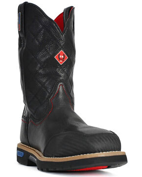 Cinch Men's WRX Slip Resistant Work Boot, Black, hi-res