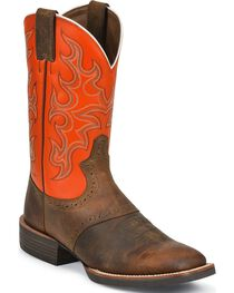 Justin Men's Silver Collection Western Boots, , hi-res