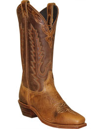 Abilene Women's Antiqued Cowhide Western Boots - Square Toe, , hi-res