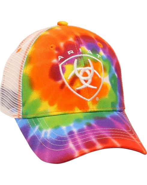 Ariat Women's Tie-Dye Mesh Ballcap, Multi, hi-res