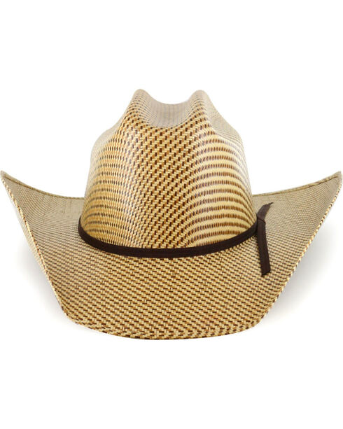 Cody James® Men's 20X Pattern Straw Hat, Multi, hi-res
