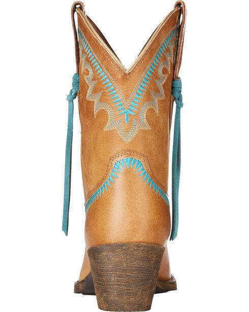 Ariat Women's Sand Round Up Aztec Western Boots - Snip Toe , Sand, hi-res