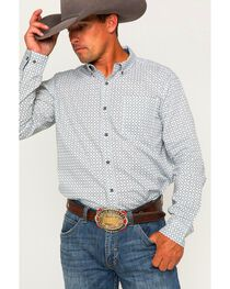 Cody James Men's Solvang Patterned Long Sleeve Shirt, , hi-res