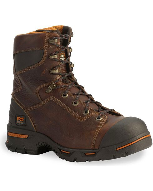 Timberland Pro Men's Endurance Steel Toe Work Boots, Briar, hi-res