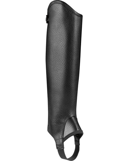 Ariat Unisex Cambridge Half Chaps, Black, hi-res