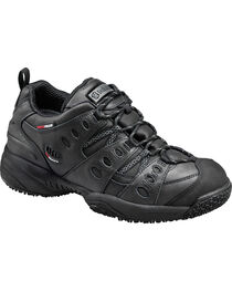 SkidBuster Men's Waterproof Slip Resistant Work Shoes, , hi-res