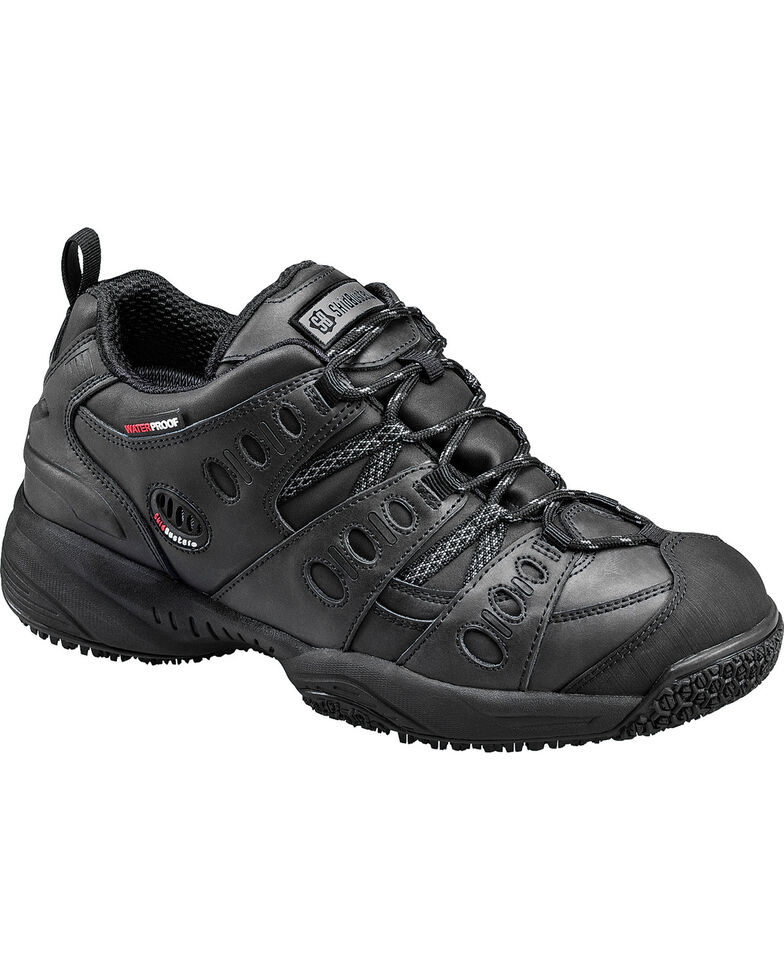 SkidBuster 5052 Slip Resistant Work Shoes Mens Black Online Sale