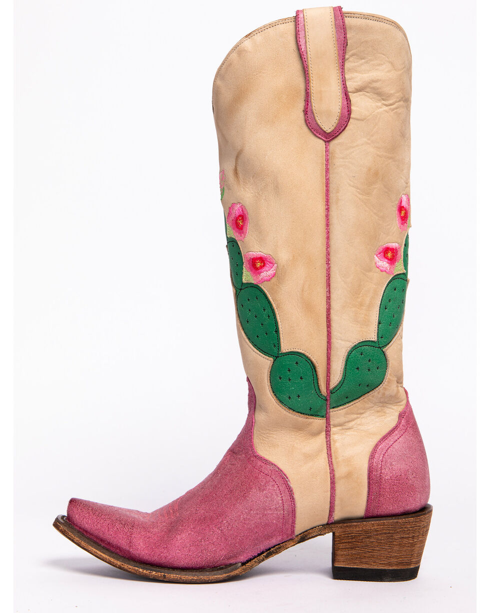 Junk Gypsy by Lane Women's Hard to Handle Western Boots, Ivory, hi-res