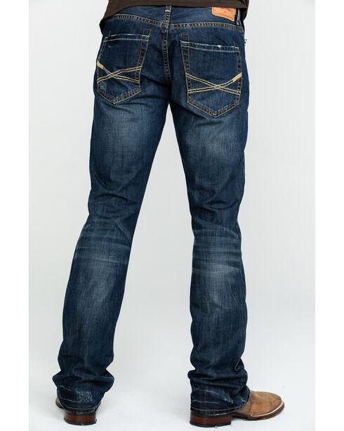 Stetson Rock Fit X Stitched Jeans, Dark Stone, hi-res