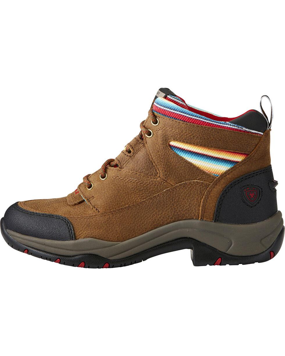 Ariat Women's Terrain Lace-Up Hiking Shoes, Lt Brown, hi-res