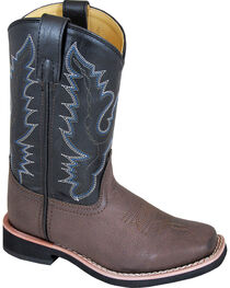 Smoky Mountain Youth Boy's Tyler Western Boots - Square Toe , , hi-res