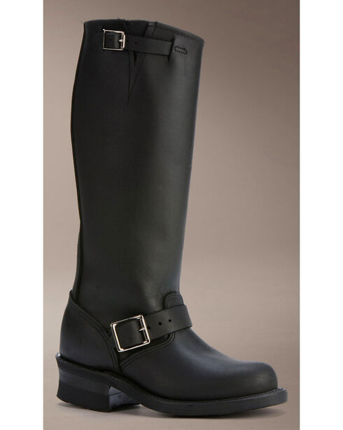 "Frye Women's Engineer 15RL 15"" Work Boots, Black, hi-res"
