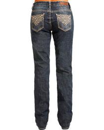 Rock & Roll Cowgirl Women's Embellished Boyfriend Jeans - Straight Leg , , hi-res