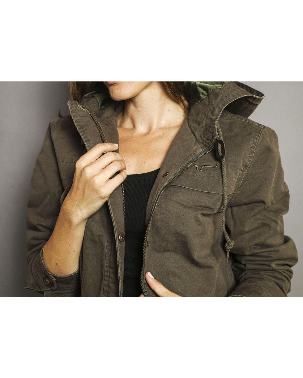 Kimes Ranch Women's Longrider Jacket, Olive, hi-res