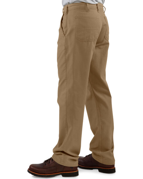 Carhartt Men's Canvas Khaki Relaxed Fit Pants, Khaki, hi-res