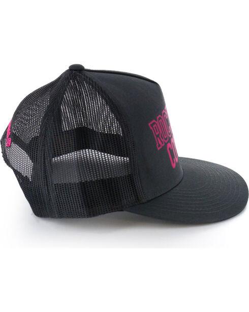 Rock & Roll Cowgirl Women's Snap-Back Ball Cap, Black, hi-res