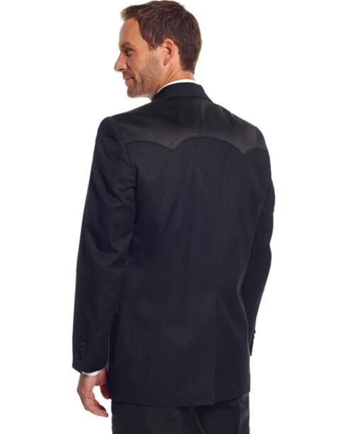 Circle S Men's Tuxedo Coat, Black, hi-res