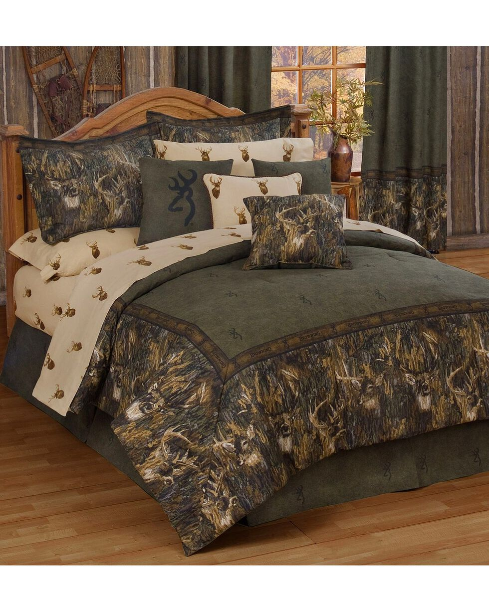 Browning Whitetails Twin Comforter Set, Multi, hi-res