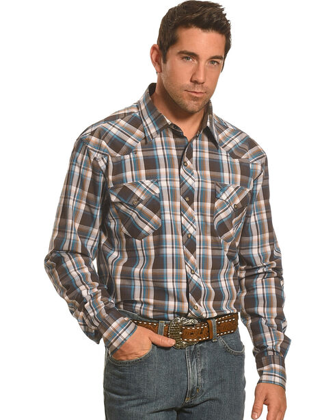 Garth Brooks Sevens By Cinch Plaid Western Shirt, Multi, hi-res