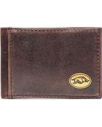 Jack Mason Men's Arkansas Legacy Flip Bifold Wallet , , hi-res