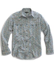 Tin Haul Men's Arrow Aztec Print Snap Western Shirt, , hi-res