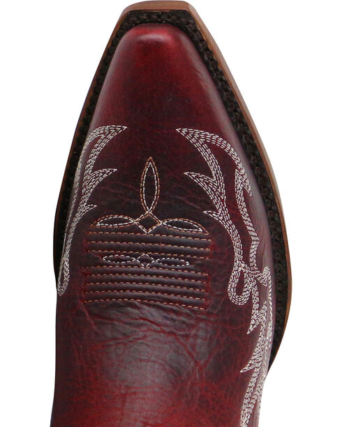 Shyanne® Women's Damiano Embroidery X Toe Western Boots, Red, hi-res