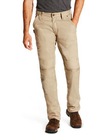 Ariat Men's M4 Workhorse Pants, Beige/khaki, hi-res