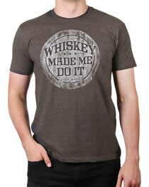 Cody James® Men's Whiskey Made Me Do It Short Sleeve T-Shirt, , hi-res
