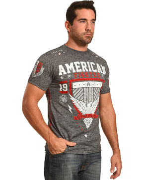 American Fighter Men's Grey Clearmont Artisan Tee , Black, hi-res