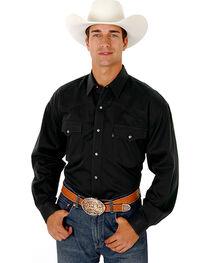 Roper Men's Rugged Twill Snap Western Shirt, , hi-res