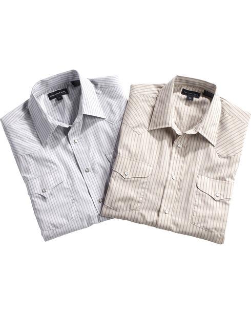 Panhandle Men's Assorted Striped Western Shirt , Multi, hi-res