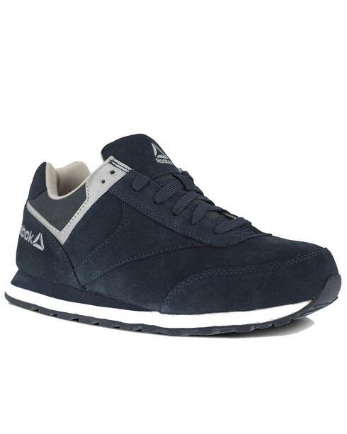 Reebok Women's Leelap Retro Jogger Shoes - Steel Toe, Blue, hi-res